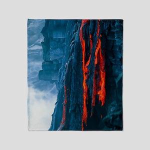 Lava flow Throw Blanket