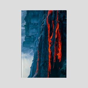 Lava flow Rectangle Magnet