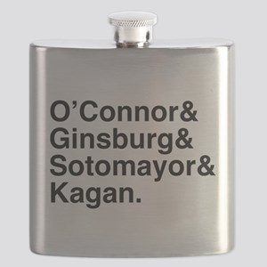 Female Justices 2 Flask