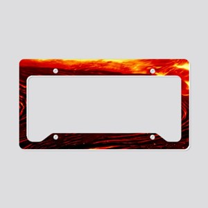 Lava flow License Plate Holder