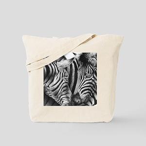 Zebras iPad Folio Cover Tote Bag