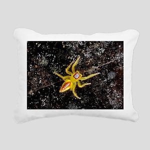 Jumping spider Rectangular Canvas Pillow