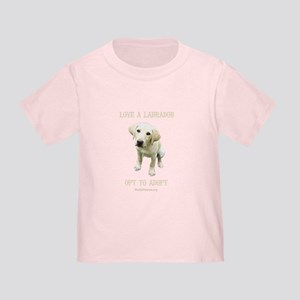 Love A Labrador Toddler T-Shirt