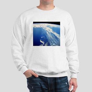 Jet stream clouds Sweatshirt