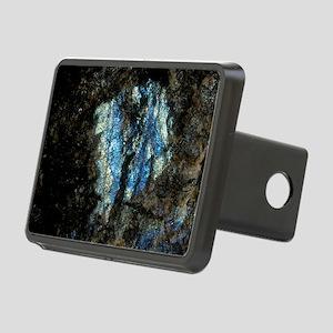 Labradorite plutonic rock Rectangular Hitch Cover