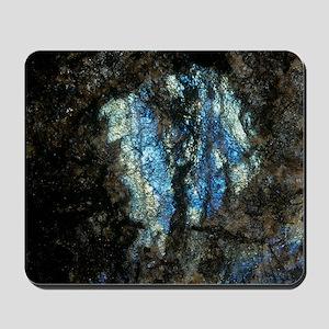 Labradorite plutonic rock Mousepad