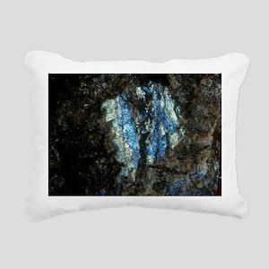 Labradorite plutonic roc Rectangular Canvas Pillow