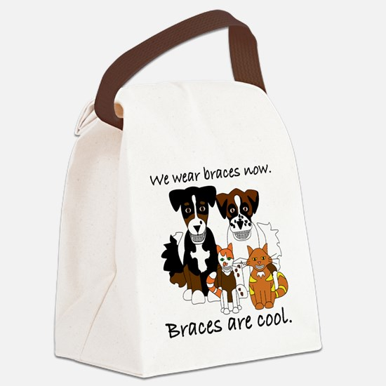 Braces Are Cool(2) Canvas Lunch Bag