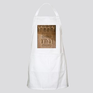 Islamic carvings, Alhambra, Spain Apron