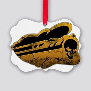 Pain Train train only Picture Ornament