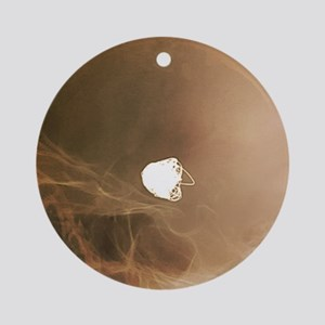 Intracranial berry aneurysm, X-ray Round Ornament