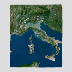 Italy Throw Blanket