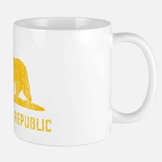 Vintage California Republic Mug