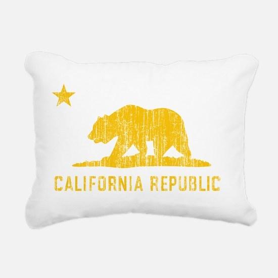 Vintage California Repub Rectangular Canvas Pillow