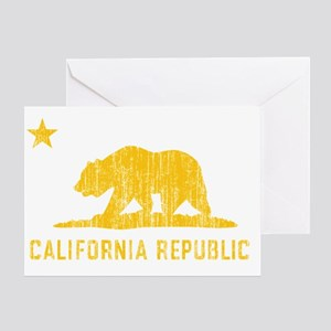 Vintage California Republic Greeting Card