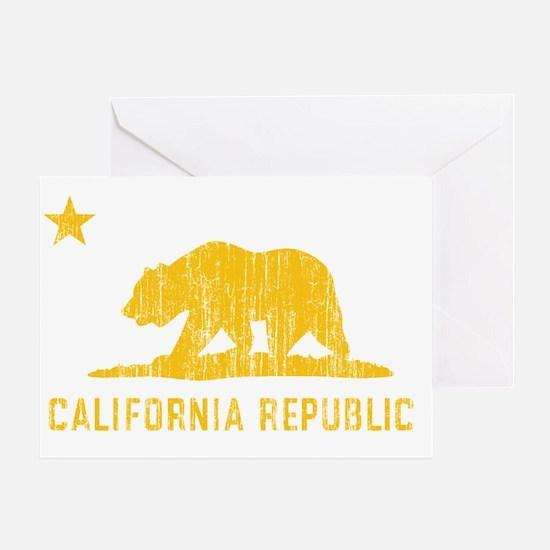 Vintage California Republic Greeting Card