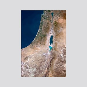 Israel Rectangle Magnet