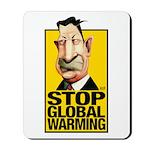 Stop Global Warming -- Mousepad