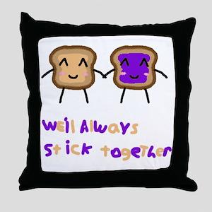 PBJ Throw Pillow