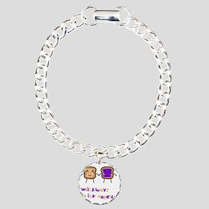 PBJ Charm Bracelet, One Charm