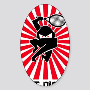 Net Ninja Sticker (Oval)