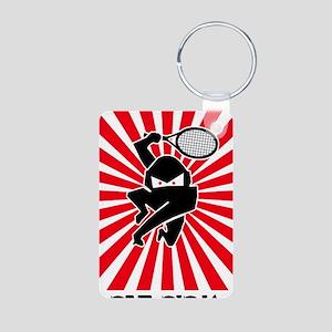Net Ninja Aluminum Photo Keychain