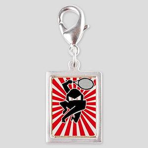 Net Ninja Silver Portrait Charm