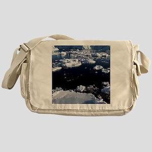 Icebergs Messenger Bag