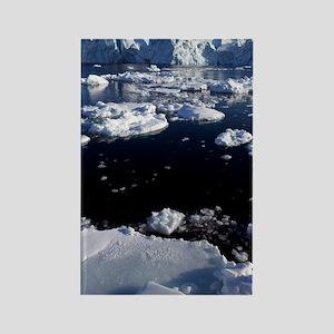 Icebergs Rectangle Magnet