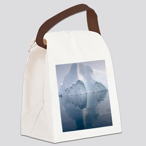 Icebergs Canvas Lunch Bag
