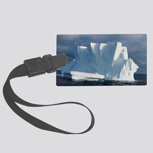 Iceberg floating in the Ross Sea Large Luggage Tag