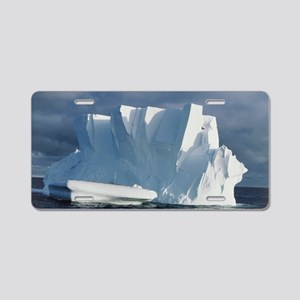 Iceberg floating in the Ros Aluminum License Plate