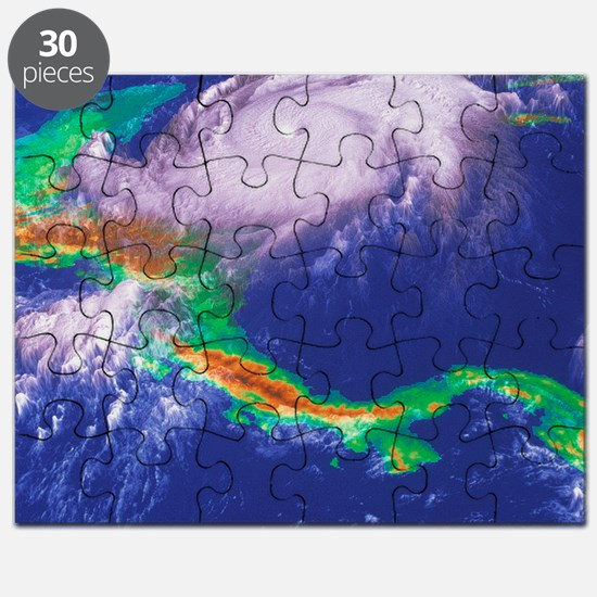 Hurricane Mitch Puzzle