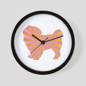 Spaniel Rays Wall Clock