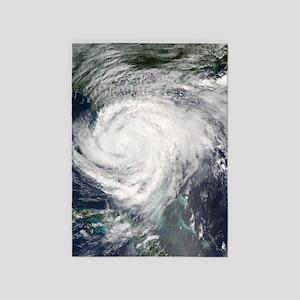 Hurricane Frances 5'x7'Area Rug