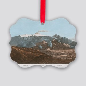 Mount Etna, 19th century Picture Ornament