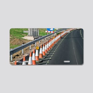 Motorway traffic cones Aluminum License Plate