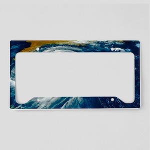 Hurricane Floyd License Plate Holder