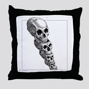Human evolution, artwork Throw Pillow