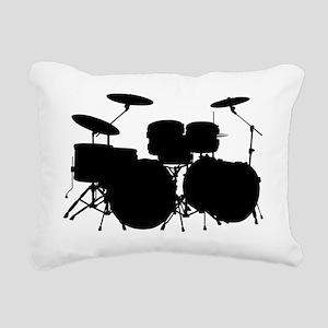 Drums Rectangular Canvas Pillow