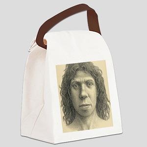 Homo heidelbergensis female Canvas Lunch Bag
