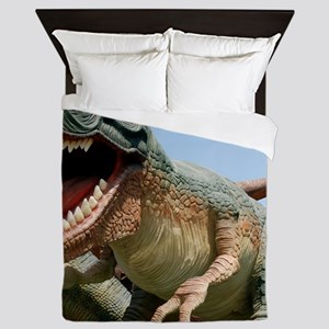 Model dinosaur Queen Duvet