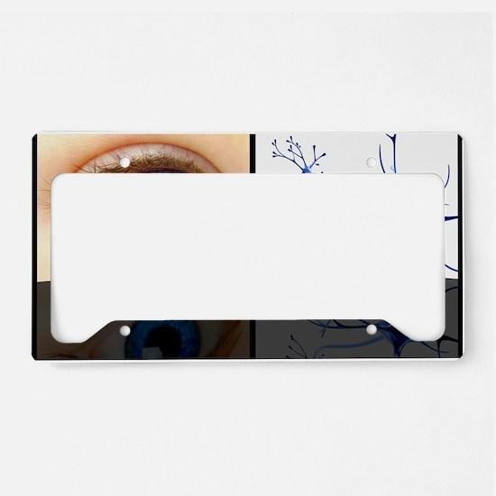 Mirror neuron, conceptual ima License Plate Holder