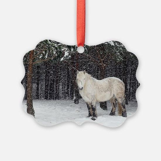 Highland pony Ornament