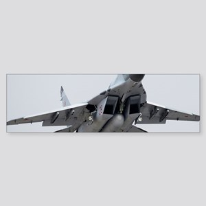 MiG-29 fighter jet Sticker (Bumper)