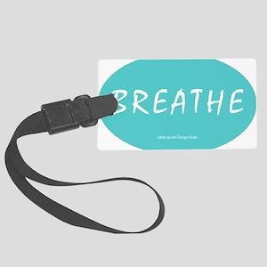 Breathe Magnet Large Luggage Tag