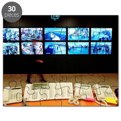 Metro surveillance centre Puzzle