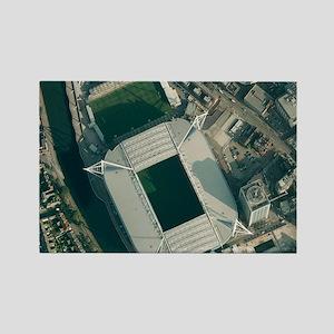 Millennium Stadium, Cardiff,aeria Rectangle Magnet