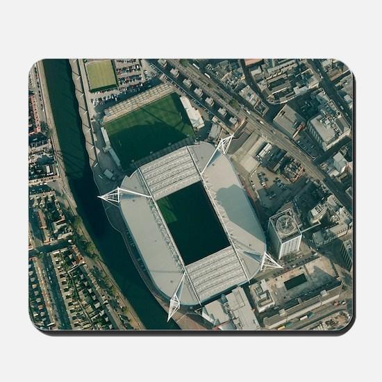Millennium Stadium, Cardiff,aerial view Mousepad
