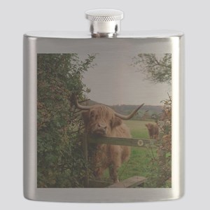 Highland cow Flask